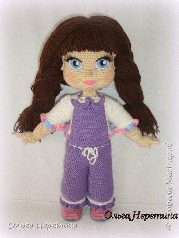 Куклы Вязание крючком Куколка