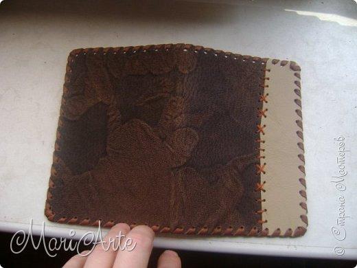 Дорогие мастера и мастерицы, поделюсь с вами мастер-классом, как я делаю обложки на паспорт фото 5