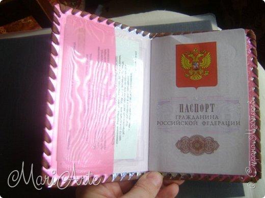 Дорогие мастера и мастерицы, поделюсь с вами мастер-классом, как я делаю обложки на паспорт фото 66