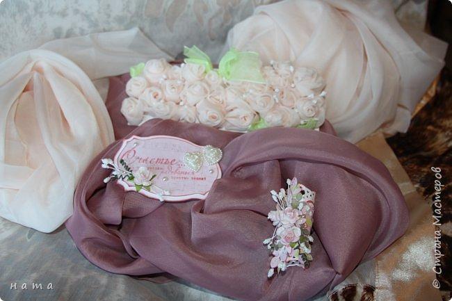 На свадьбу сотворился комплектик: Магнит на холодильник Коробочка с подложкой из роз Открыточка в коробочке футляр для денежки фото 3