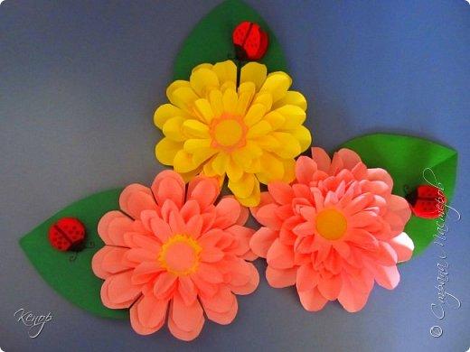 Цветочки для поделок с детьми