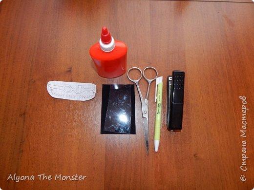 Привет! Сегодня я расскажу вам, ка сделать очки для кукол. фото 2