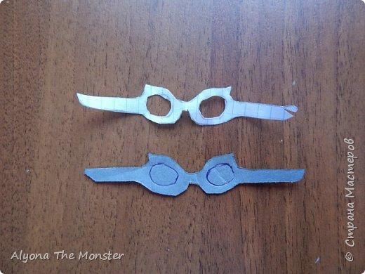 Привет! Сегодня я расскажу вам, ка сделать очки для кукол. фото 6