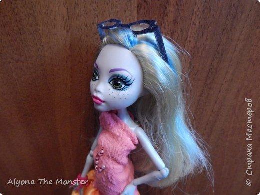Привет! Сегодня я расскажу вам, ка сделать очки для кукол. фото 10