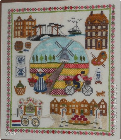 Вышивка голландская провинция 96