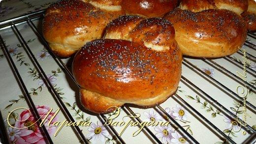 Сегодня я хочу предложить вашему вниманию булочки к завтраку. Очень вкусные, сладкие и нежные фото 12