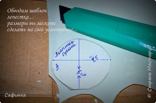Мастер-класс Флористика искусственная Моделирование конструирование Мастер-класс по созданию веточки бутонов пиона  сорта  Ballerina из Фоама  Фоамиран фом фото 3