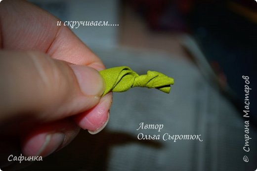 """Приветик всем,мои дорогие!!! И снова с вами я, Ольга Сыротюк... По просьбе одной читательницы моих МК...мы вместе с вами будем создавать очаровательные бутоны пиона сорта """"Ballerina""""  Согласно учению Фэн-Шуй, цветок пиона является символом удачи и любви... И так начнем...готовы творить вместе со мной? Значит за дело,достаем волшебный материал, и хорошее настроение.... фото 22"""