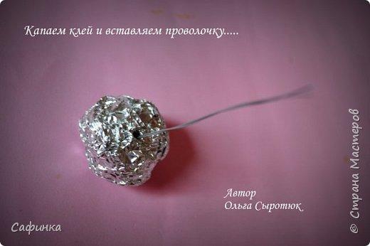 """Приветик всем,мои дорогие!!! И снова с вами я, Ольга Сыротюк... По просьбе одной читательницы моих МК...мы вместе с вами будем создавать очаровательные бутоны пиона сорта """"Ballerina""""  Согласно учению Фэн-Шуй, цветок пиона является символом удачи и любви... И так начнем...готовы творить вместе со мной? Значит за дело,достаем волшебный материал, и хорошее настроение.... фото 29"""