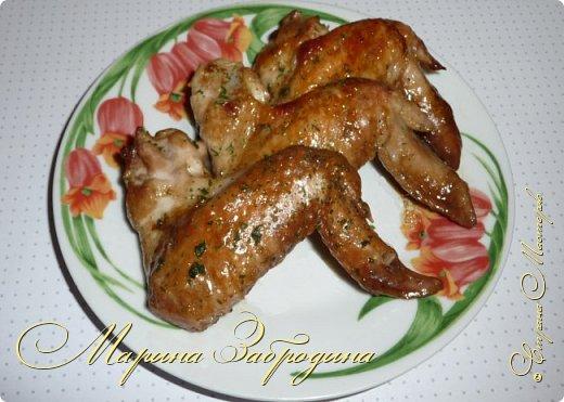 Кулинария Мастер-класс Рецепт кулинарный Куриные крылышки в соево-имбирном маринаде с апельсином Продукты пищевые фото 9