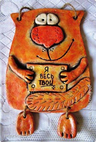 Добрый вечер! Долго смотрела я на котиков Каночкиной Светланы https://stranamasterov.ru/node/177348 , такие они забавные, смешнючие и решила сповторюшничать.  И вот она команда... фото 4