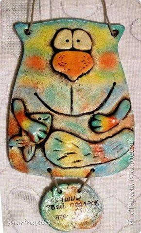 Добрый вечер! Долго смотрела я на котиков Каночкиной Светланы https://stranamasterov.ru/node/177348 , такие они забавные, смешнючие и решила сповторюшничать.  И вот она команда... фото 8