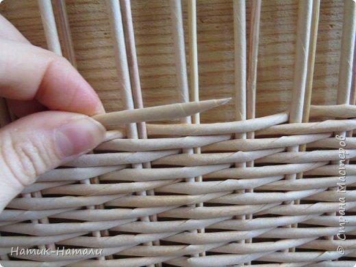 Ситцевое плетение двумя трубочками мастер класс для начинающих