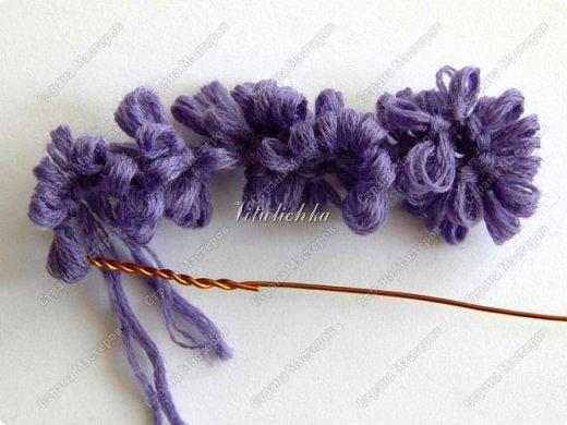 Сегодня на уроке делали гиацинты. Цветы делаются довольно быстро и не сложно. фото 9