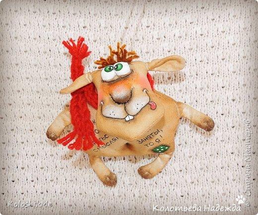 Привет всем! Идея с овечками, как и у многих мастериц, у меня возникла задооолго до Нового 2015 года... Но, отсутствие свободного времени, так и не дало мне возможности реализовать эту идею вовремя. И всё же, лучше поздно, чем никогда! фото 3