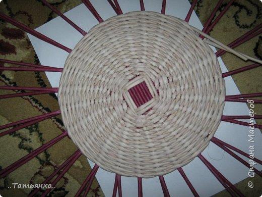 Хочу поделиться своим плетением юрты. Очень здорова пойдёт для оформления подарка ко дню свадьбы. фото 3