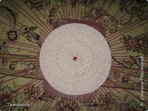 Хочу поделиться своим плетением юрты. Очень здорова пойдёт для оформления подарка ко дню свадьбы. фото 4