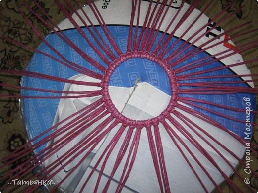 Хочу поделиться своим плетением юрты. Очень здорова пойдёт для оформления подарка ко дню свадьбы. фото 11