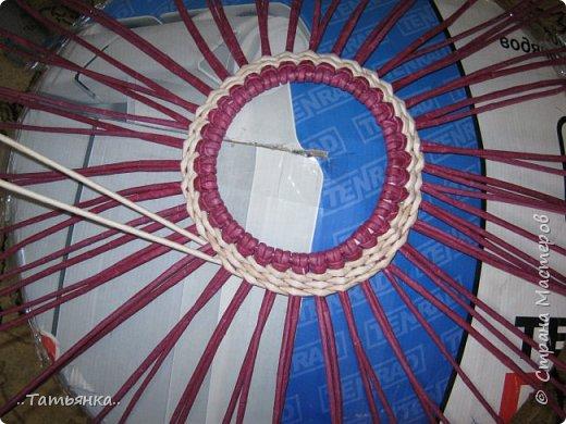 Хочу поделиться своим плетением юрты. Очень здорова пойдёт для оформления подарка ко дню свадьбы. фото 12