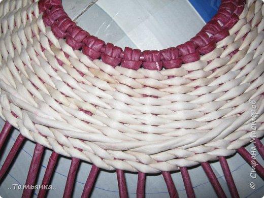 Хочу поделиться своим плетением юрты. Очень здорова пойдёт для оформления подарка ко дню свадьбы. фото 14