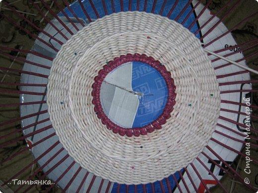 Хочу поделиться своим плетением юрты. Очень здорова пойдёт для оформления подарка ко дню свадьбы. фото 15