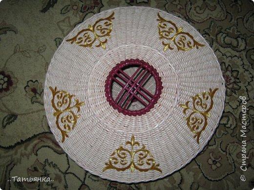 Хочу поделиться своим плетением юрты. Очень здорова пойдёт для оформления подарка ко дню свадьбы. фото 22