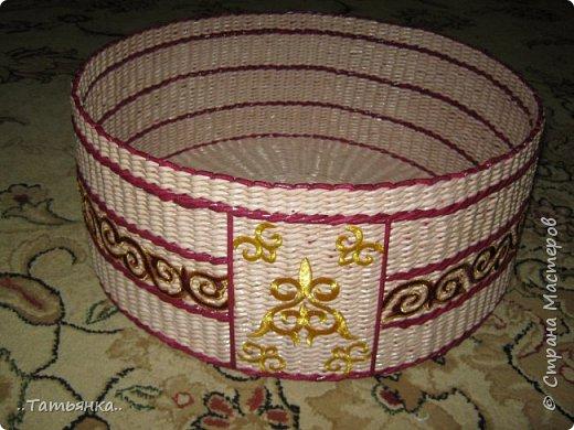 Хочу поделиться своим плетением юрты. Очень здорова пойдёт для оформления подарка ко дню свадьбы. фото 23