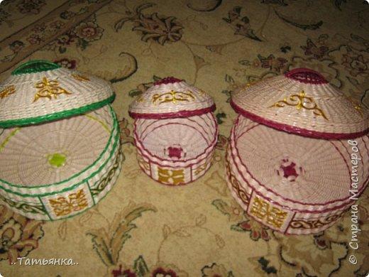 Хочу поделиться своим плетением юрты. Очень здорова пойдёт для оформления подарка ко дню свадьбы. фото 30