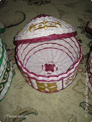 Хочу поделиться своим плетением юрты. Очень здорова пойдёт для оформления подарка ко дню свадьбы. фото 29
