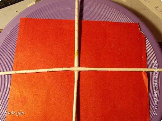 Мастер-класс Поделка изделие Бумагопластика Плетение Кругляш из точки  Трубочки бумажные фото 2