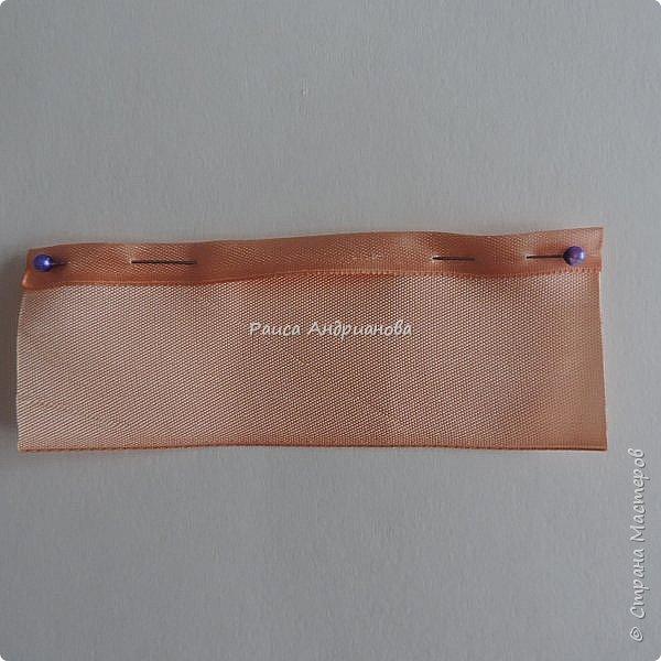 Картина панно рисунок Мастер-класс Вышивка Бутоны роз Вышивка атласными лентами Ленты фото 4