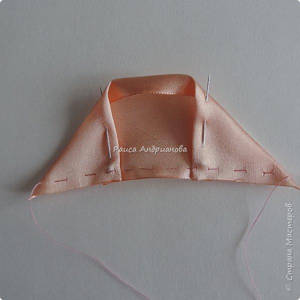 Картина панно рисунок Мастер-класс Вышивка Бутоны роз Вышивка атласными лентами Ленты фото 5