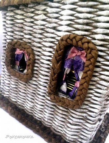 Вот чайный домик и доделался )))) Спасибо Любовь Паншина за отличную идею, я в Ваш домик влюбилась сразу ))))))) фото 3