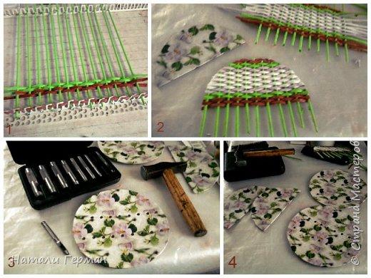Поделка изделие Плетение Салфетница Бумага Трубочки бумажные фото 2