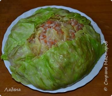 Кулинария Мастер-класс Рецепт кулинарный Капуста фаршированная Продукты пищевые фото 15