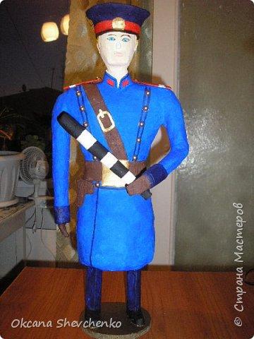 Поделка дядя степа милиционер своими руками