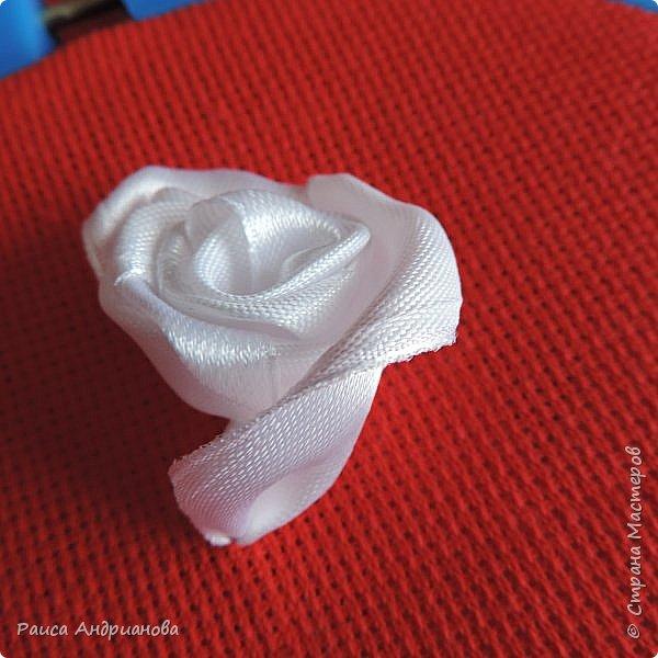 Обещанный МК по созданию объемной розы. Сделала в двух частях, т.к. фотографий много. фото 13