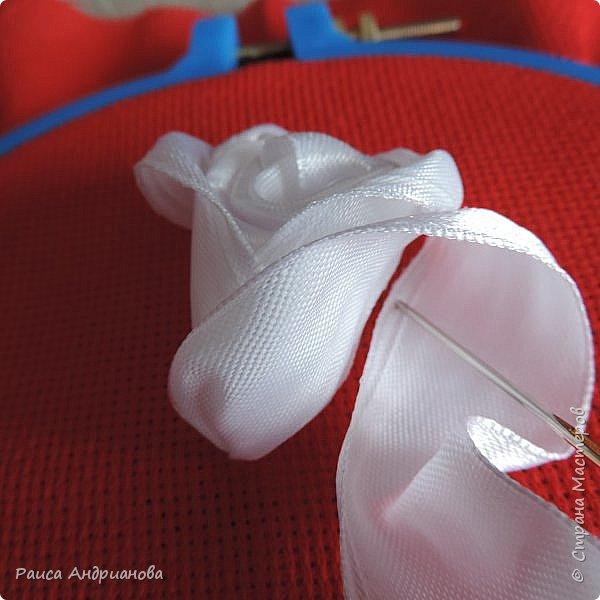 Обещанный МК по созданию объемной розы. Сделала в двух частях, т.к. фотографий много. фото 16