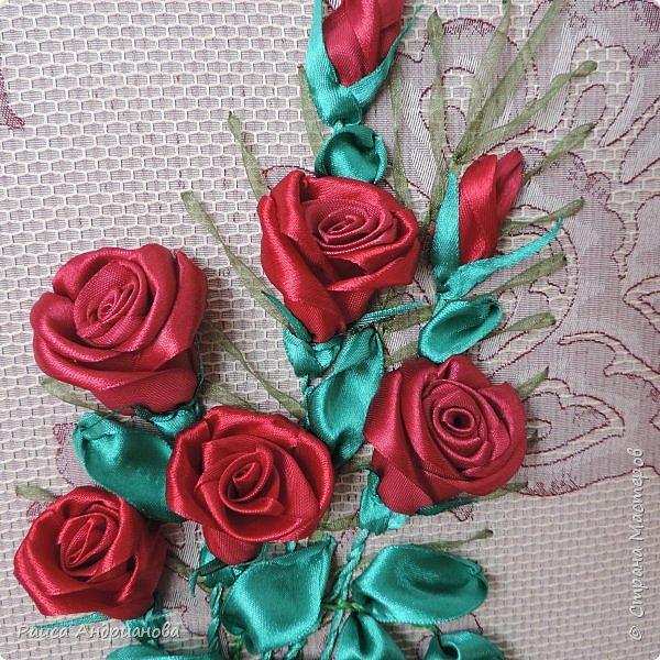 Обещанный МК по созданию объемной розы. Сделала в двух частях, т.к. фотографий много. фото 20