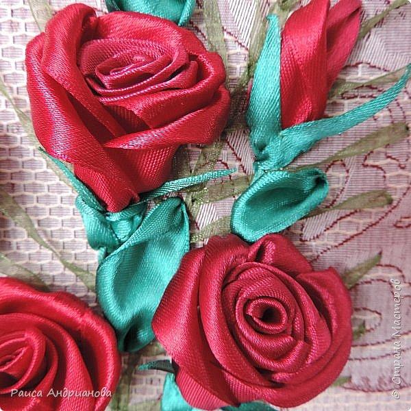 Обещанный МК по созданию объемной розы. Сделала в двух частях, т.к. фотографий много. фото 19