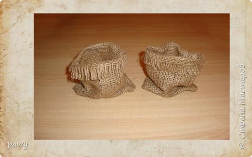 Кукольная жизнь Моделирование конструирование Аля керамический мешочек своими руками из доступных материалов Мешковина Соль фото 6