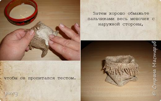 Кукольная жизнь Моделирование конструирование Аля керамический мешочек своими руками из доступных материалов Мешковина Соль фото 8