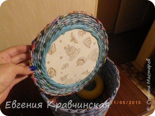 Мастер-класс Поделка изделие Плетение Валик на крышке двухсторонний Бумага газетная Трубочки бумажные фото 1