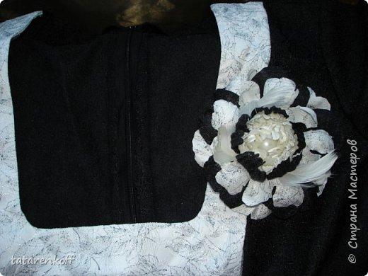 Пион из ткани фото 5