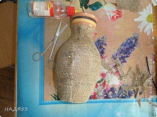 Мастер-класс Моделирование конструирование И снова кожа ВАЗА Клей Кожа Краска Мешковина Проволока фото 14