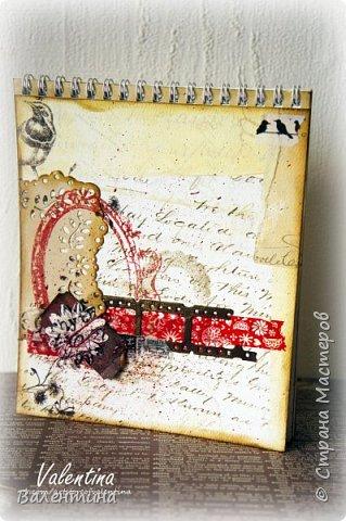 Оформила для себя блокнот для записей)) фото 1