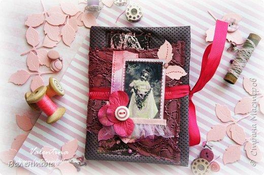 Оформила для себя блокнот для записей)) фото 8