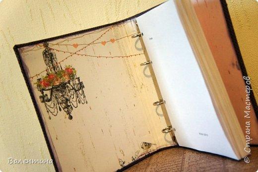 Оформила для себя блокнот для записей)) фото 3