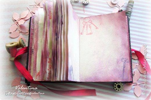 Оформила для себя блокнот для записей)) фото 9