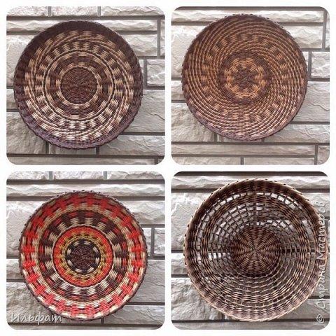 Тарелки панно диаметр 38-40 см глубина 6-7 см фото 1